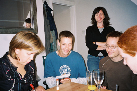 Becki, Rufus, Jilly, Tim and Becca